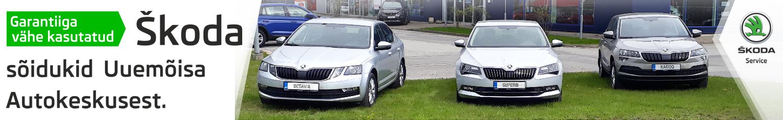 Garantiiga vähe kasutatud Škoda sõidukid Uuemõisa Autokeskusest.